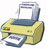 Batchpicken met een printer